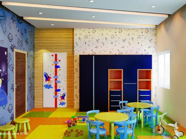 Area infantil website